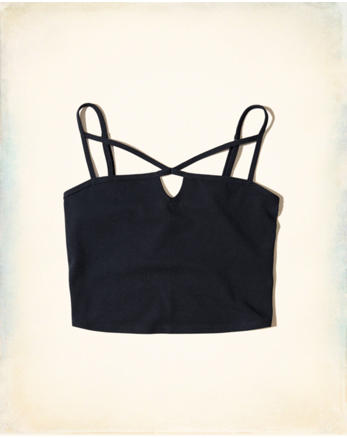 hol Strappy Crop Top