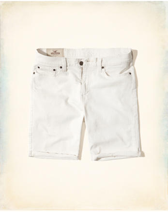hol Classic Fit Denim Shorts