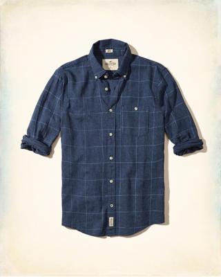 Hollister Camisas Hombre