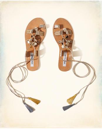 hol Steve Madden RAMBEL Lace-Up Sandal