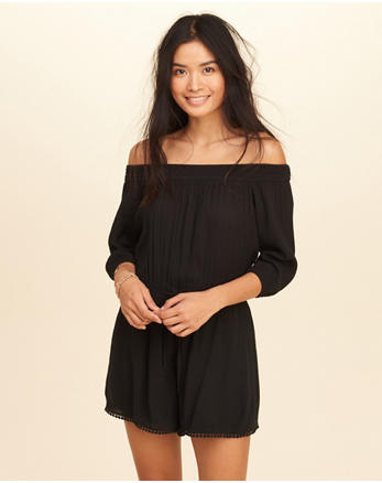 hol Off-The-Shoulder Romper