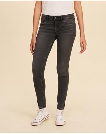 hol Low-Rise Super Skinny Jeans