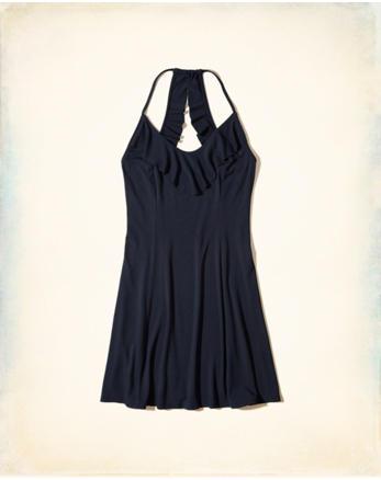 hol Ruffle Knit Dress