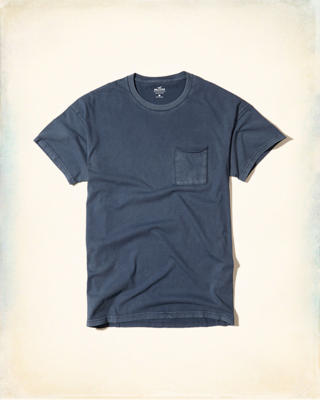 Washed Boxy Pocket T-Shirt