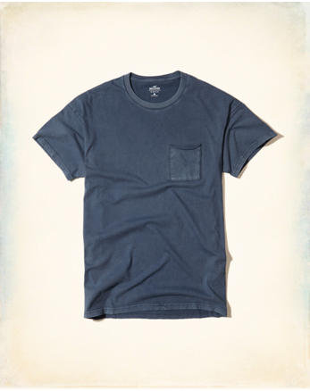 hol Washed Boxy Pocket T-Shirt