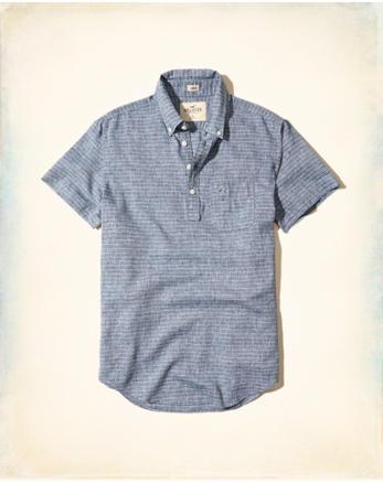 hol Linen Popover Shirt