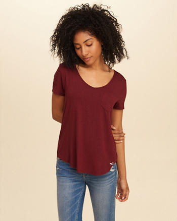 Must-Have Easy Pocket T-Shirt