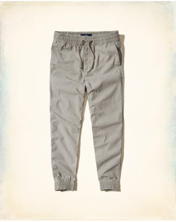 hol Chambray Jogger Pants