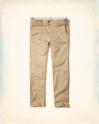 Slim Straight Chino Pants