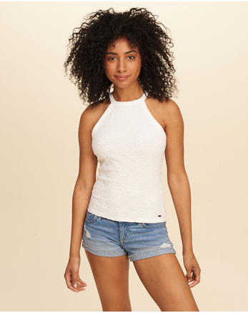 hol Must-Have Lace Tank