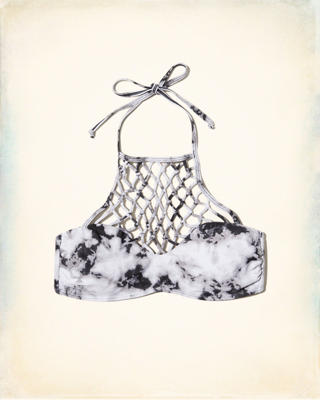 Halter High-Neck Bikini Top