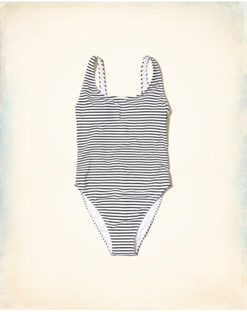 hol High-Leg One-Piece Swimsuit