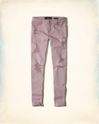 Low-Rise Super Skinny Pants