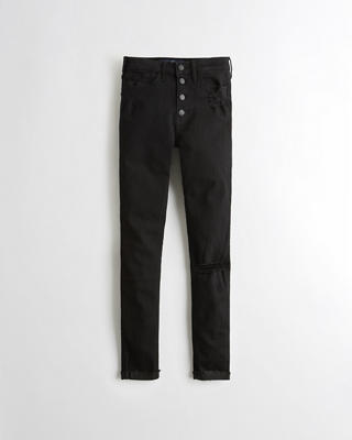 High-Rise Super Skinny Jeans