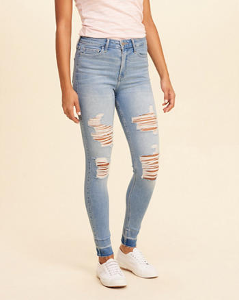 Hollister Shape Love High-Rise Super Skinny Jeans