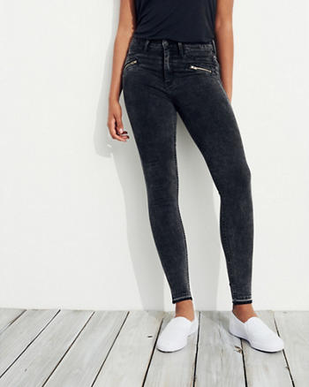High-Rise Jean Leggings