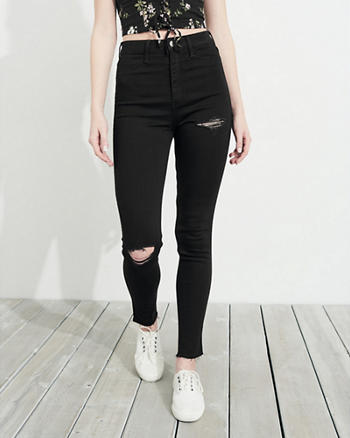 Ultra High-Rise Jean Leggings