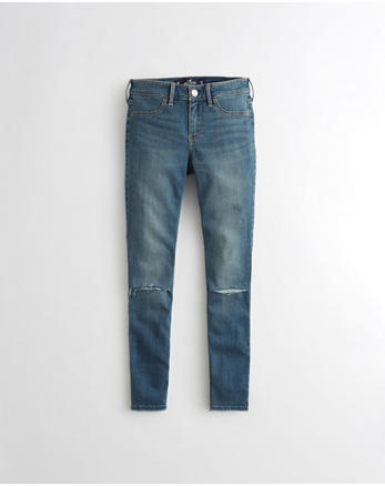 hol Advanced Stretch Low-Rise Jean Legging Crop