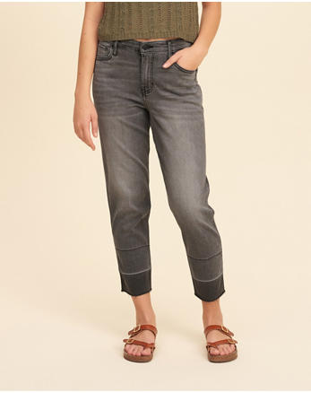 hol High-Rise Slim Boyfriend Jeans