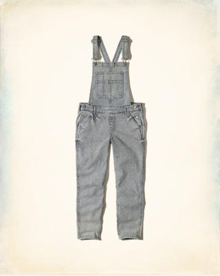 Railroad Stripe Overalls