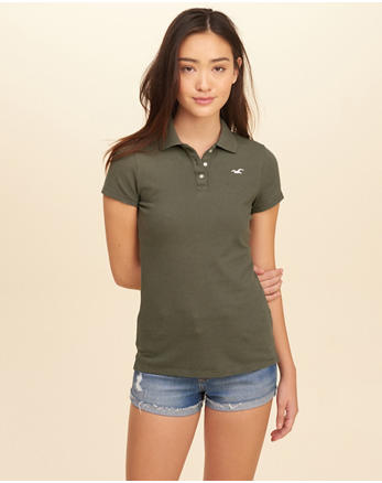hol Slim Stretch Icon Polo