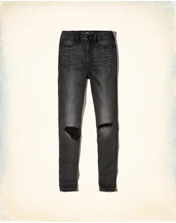 hol Stretch Ultra High-Rise Super Skinny Jeans