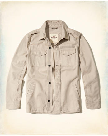 hol Military Shirt Jacket