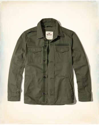 hol Military Shirt Jacket