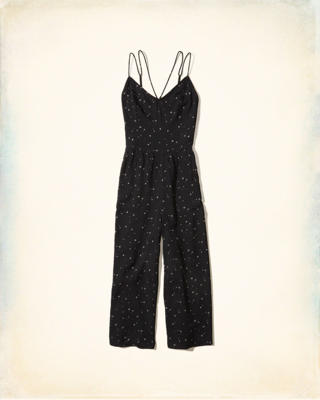 Strappy Crop Jumpsuit