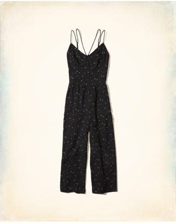 hol Strappy Crop Jumpsuit