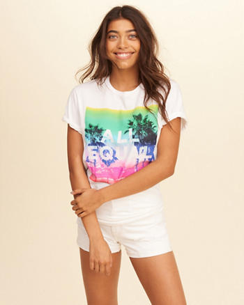 Hollister Pride Collection Graphic Tee