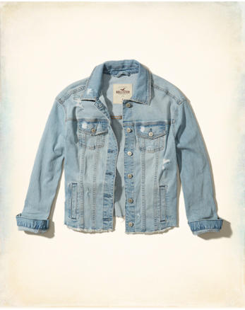 hol Oversized Denim Jacket