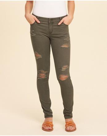 hol Low-Rise Super Skinny Pants