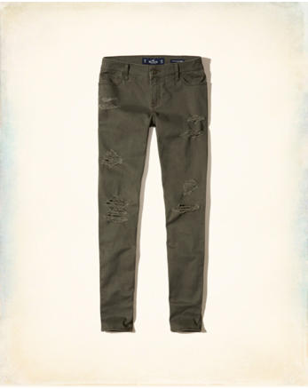 hol Low-Rise Super Skinny Pants