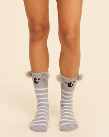 Graphic Crew Socks