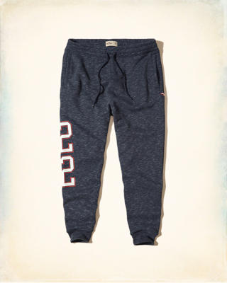 Logo Graphic Skinny Jogger Pants
