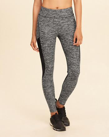 Mesh High-Rise Active Leggings