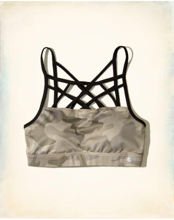 hol Strappy Sports Bra