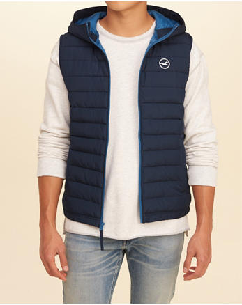 hol Hooded Puffer Vest