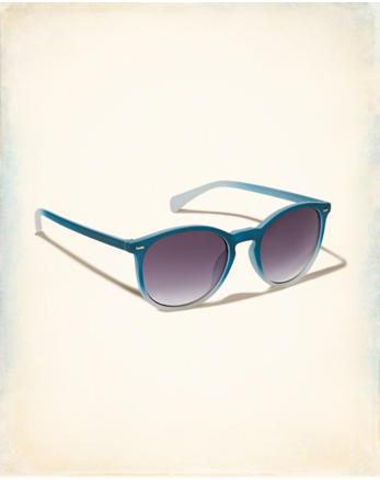 hol Plastic Round Sunglasses