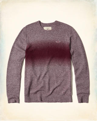 Dip-Dye Crewneck Sweater