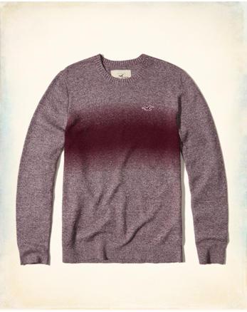 hol Dip-Dye Crewneck Sweater