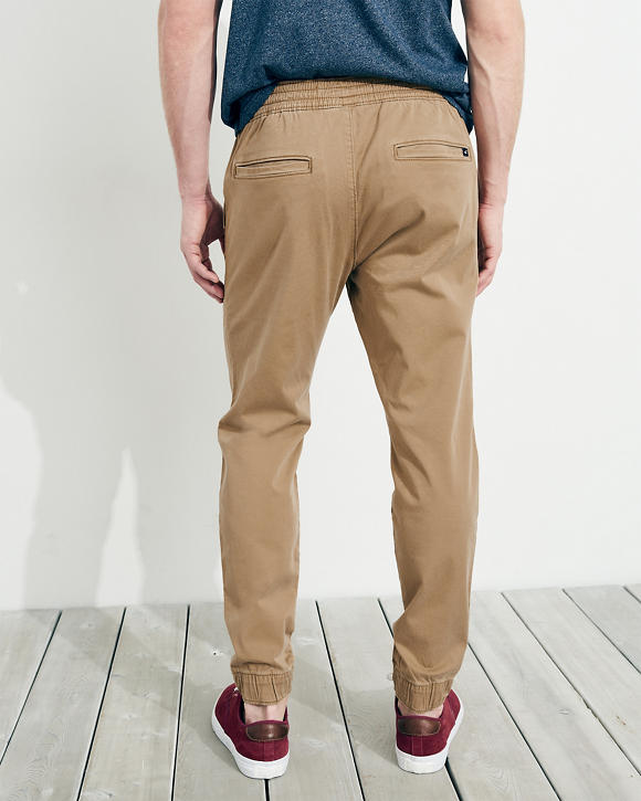 3eabe0a2d207 Guys Advanced Stretch Twill Skinny Jogger Pants