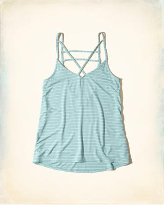 Must-Have Strappy Swing Tank