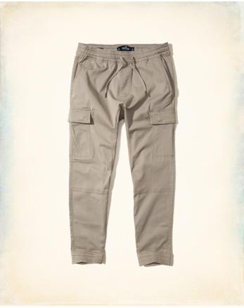hol Cargo Twill Jogger Pants