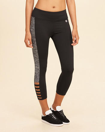 High-Rise Crop Active Leggings