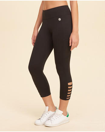 hol Strappy High-Rise Active Leggings