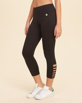 Strappy High-Rise Active Leggings
