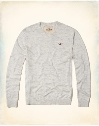 hol Colorblock Crewneck Sweater