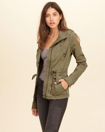 Twill Shirt Jacket
